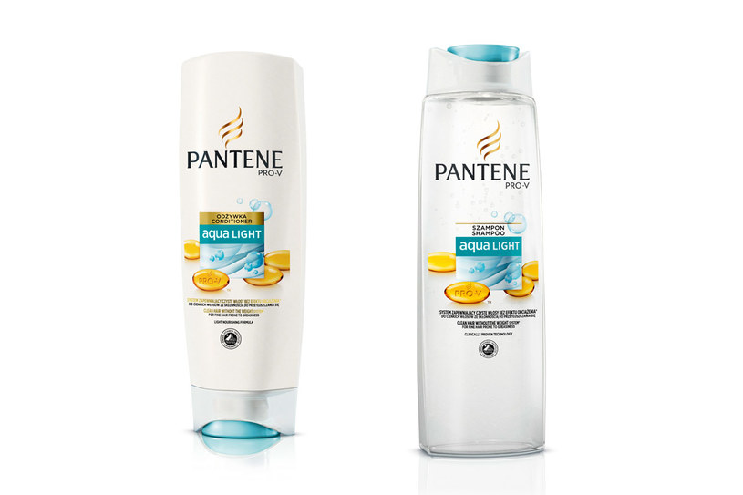 Pantene Aqua Light /Styl.pl/materiały prasowe