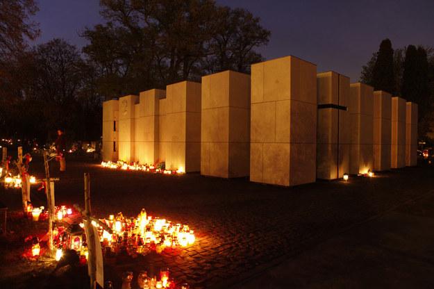 Panteon – Mauzoleum Wyklętych-Niezłomnych na warszawskich Powązkach /Stefan Maszewski /Reporter