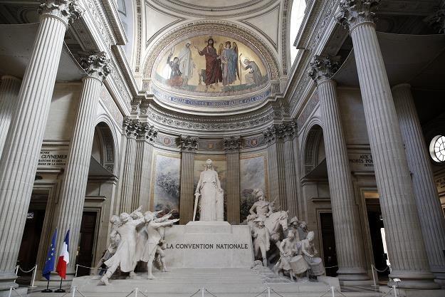 Panteon - od 1995 r. tam leżą szczątki Marii i Piotra Curie /EPA