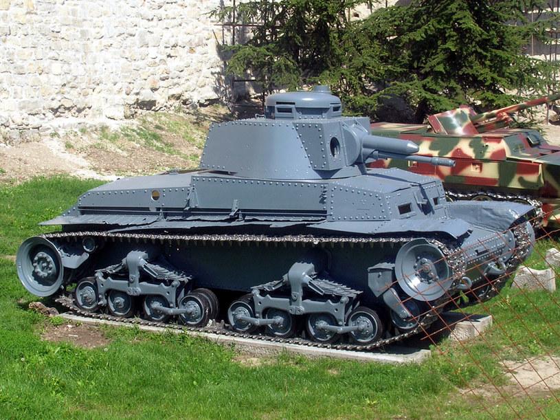 Panzer 35(t) - czechosłowacki czołg produkowany od 1936 r. przez zakłady Skody /Wikipedia /materiały prasowe