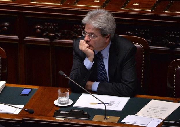 Paolo Gentiloni / MAURIZIO BRAMBATTI    /PAP/EPA