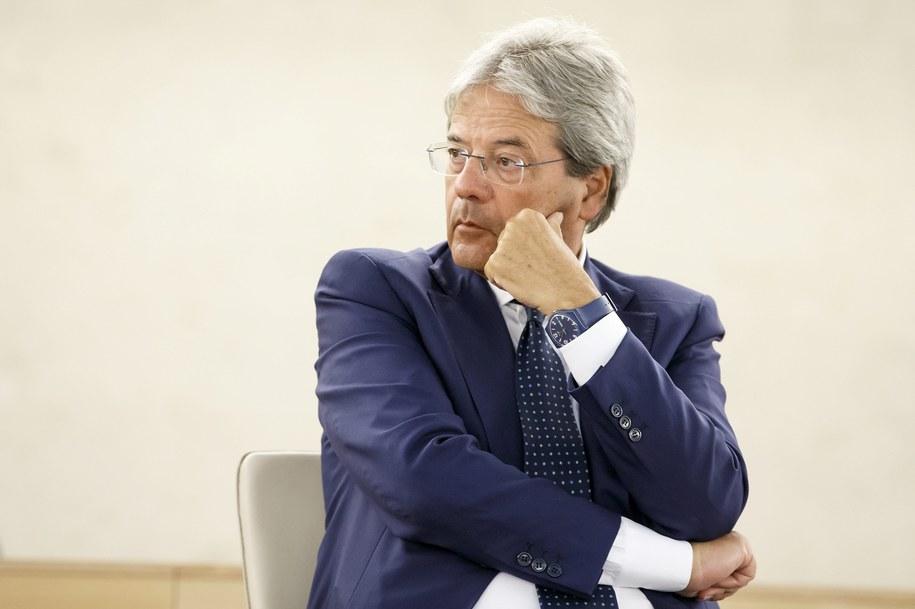 Paolo Gentiloni /SALVATORE DI NOLFI /PAP/EPA