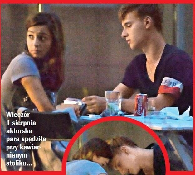 Paparazzi przyłapali Więdłochę i Musiała na wspólnej kolacji. /Życie na gorąco