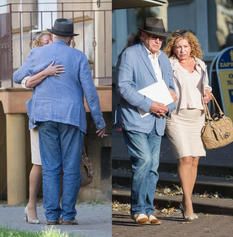 Paparazzi sfotografowali parę w drodze do notariusza /Foto IP