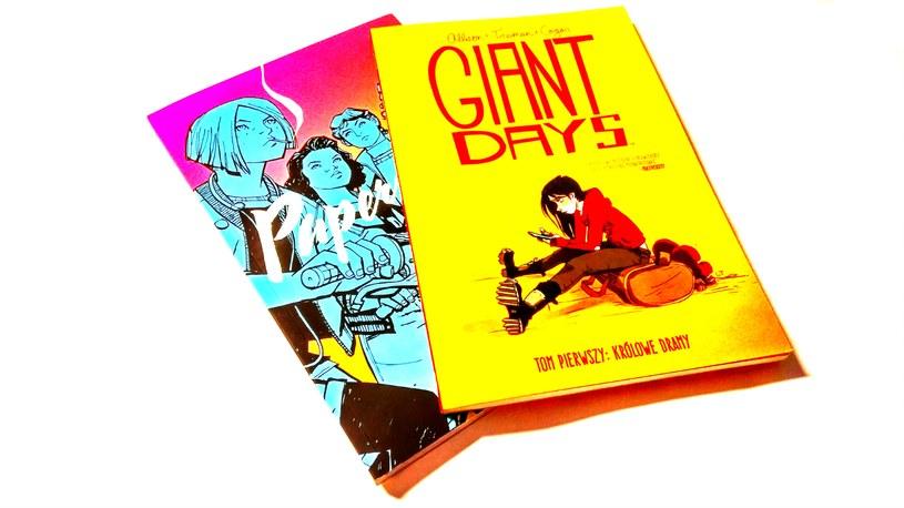 Paper Girls i Giant Days - gorąco polecamy oba komiksy! /INTERIA.PL