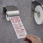 Papier toaletowy dla smartfonów w japońskich toaletach