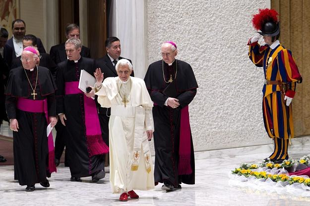 Papież Benedykt XVI /PAP/EPA