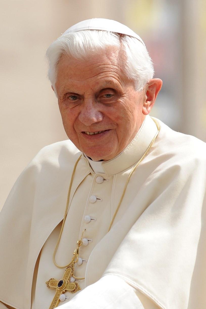 Papież Benedykt XVI /Wojciech Stróżyk /Reporter   /East News