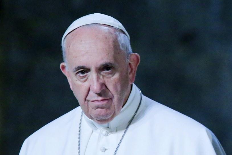 """Papież Franciszek apelował o zmianę wyroku """"na karę odzwierciedlającą zarówno sprawiedliwość jak i miłosierdzie"""" /PAP/EPA"""