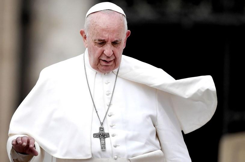 """Papież Franciszek chciałby odwiedzić Rosję jako """"osoba prywatna""""? /TIZIANA FABI / AFP /East News"""