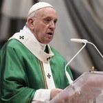 Papież Franciszek: Czytajmy codziennie Biblię