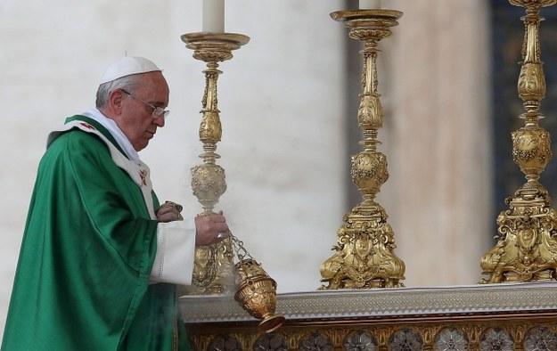 Papież Franciszek I. /ALESSANDRO DI MEO    /PAP/EPA