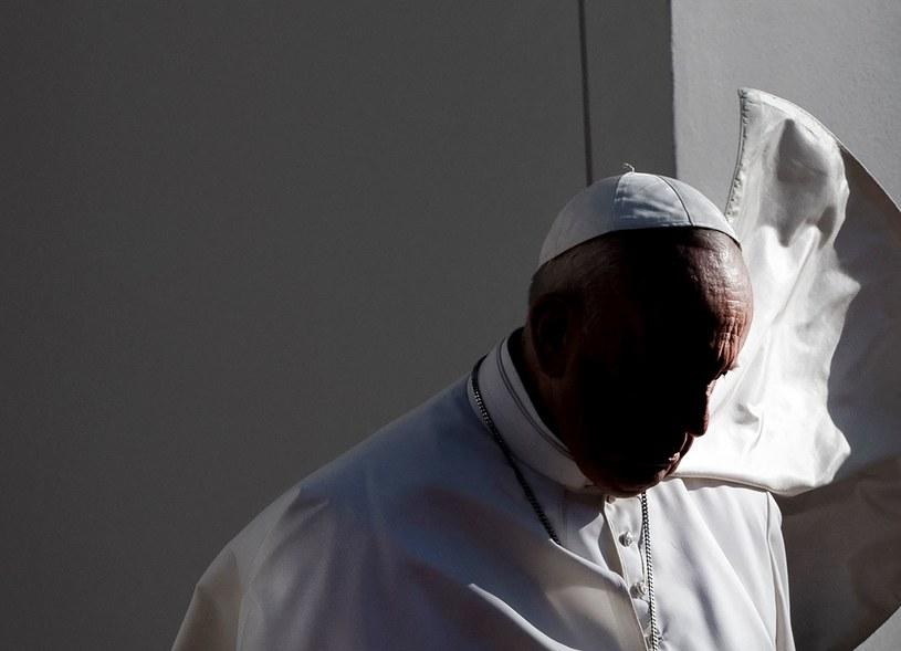 Papież Franciszek na Słowacji /AFP