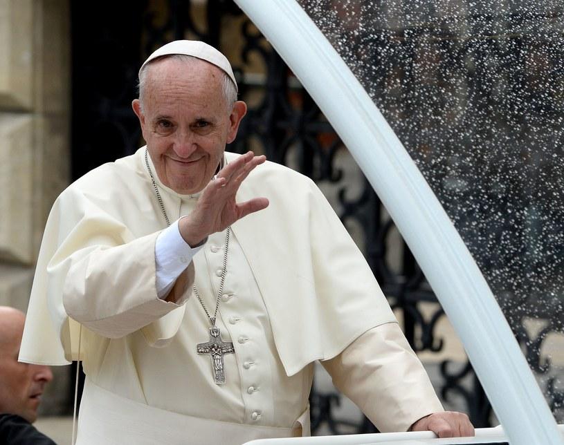 Papież Franciszek na Wawelu /AFP