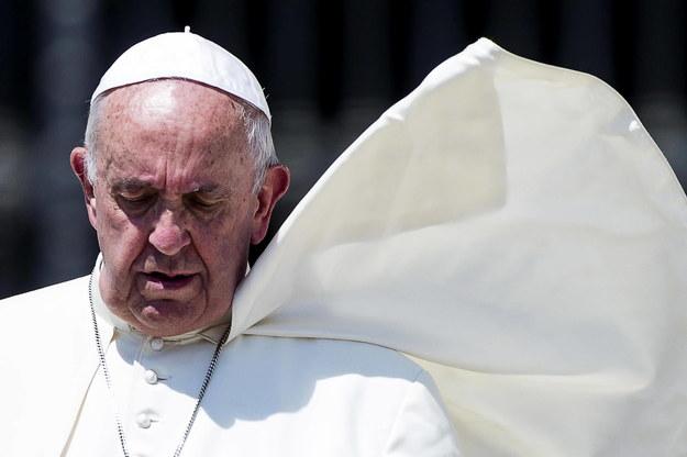 """Papież Franciszek nazwał prostytucję """"chorobą ludzkości"""" /ANGELO CARCONI /PAP/EPA"""