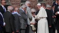 Papież Franciszek odwiedził Auschwitz-Birkenau