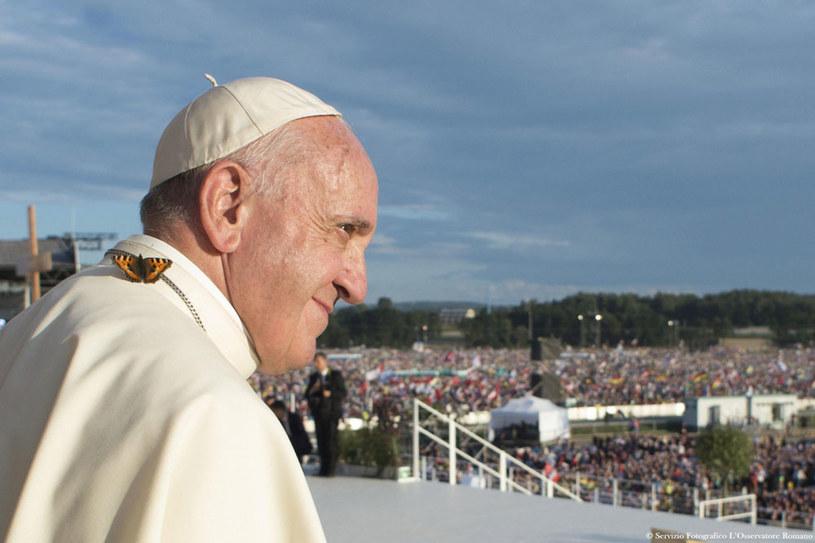 Papież Franciszek podczas Światowych Dni Młodzieży /OSSERVATORE ROMANO  /PAP/EPA