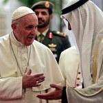 Papież Franciszek przybył do Zjednoczonych Emiratów Arabskich