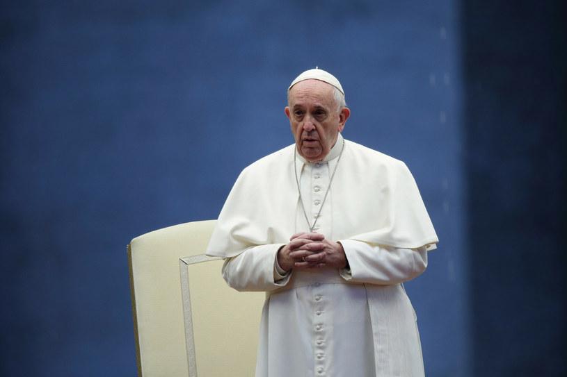 Papież Franciszek rozmawiał z polskimi biskupami /Zuma/Evandro Inetti / SplashNews.com/East News /East News