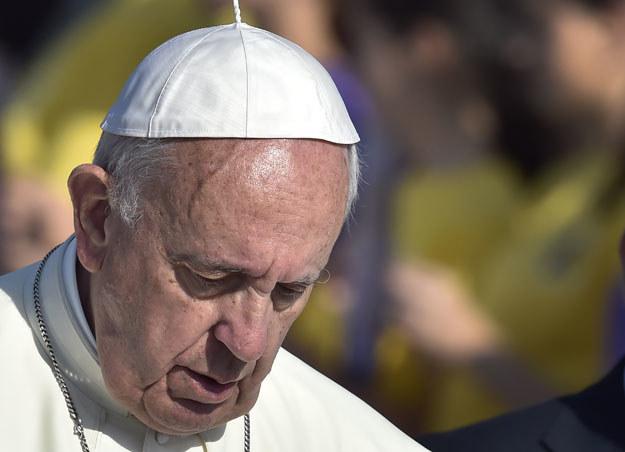 Papież Franciszek w Armenii /AFP