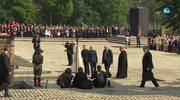 Papież Franciszek w Birkenau. Modlitwa pod pomnikiem, spotkanie ze Sprawiedliwymi wśród Narodów Świata