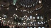 Papież Franciszek w Błękitnym Meczecie i w Hagia Sofia w Stambule