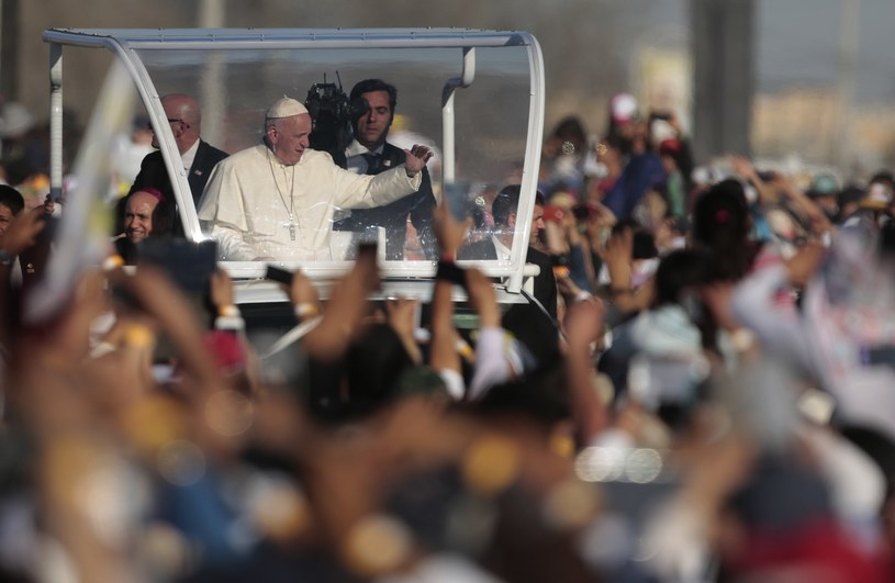 Papież Franciszek w Ciudad Juarez /Pedro PARDO /AFP