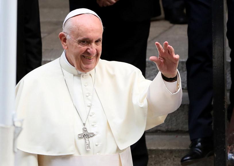 Papież Franciszek w Dublinie /PAUL FAITH    /AFP