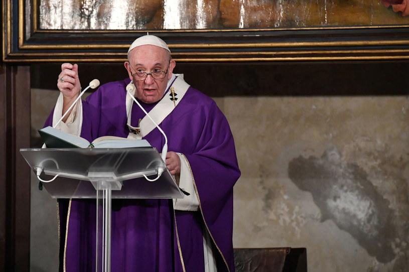 Papież Franciszek w Dzień Zaduszny /VATICAN MEDIA HANDOUT /PAP/EPA