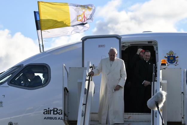 Papież Franciszek w Estonii /ALESSANDRO DI MEO    /PAP/EPA