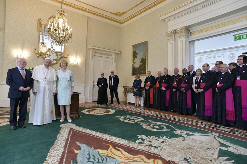 Papież Franciszek w Irlandii /VATICAN PRESS OFFICE /PAP/EPA