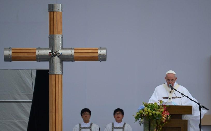 Papież Franciszek wyraził pragnienie ożywienia dialogu z krajami Azji, z którymi Watykan nie ma pełnych stosunków dyplomatycznych. /AFP