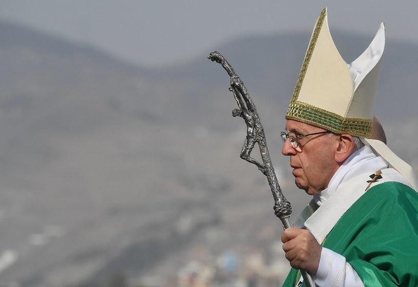 Papież Franciszek zakończył wizytę w Peru i wraca do Rzymu /LUCA ZENNARO /PAP/EPA