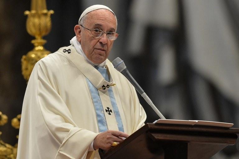 Papież Franciszek, zdj. ilustracyjne /ANDREAS SOLARO /AFP