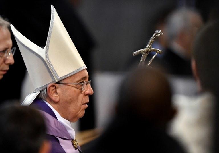 Papież Franciszek, zdj. ilustracyjne /GABRIEL BOUYS / POOL /AFP