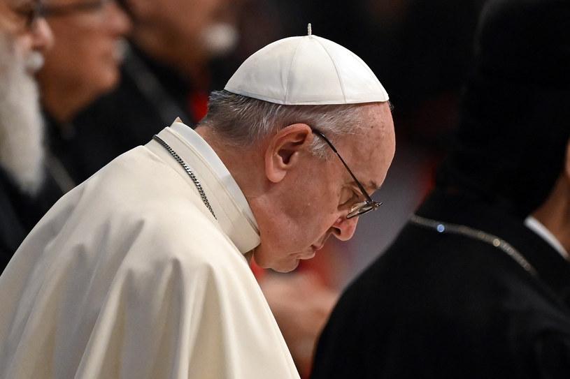Papież Franciszek; zdj. ilustracyjne /ANDREAS SOLARO /AFP