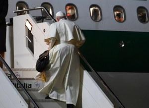 Papież Franciszek zmienia plany. Nowy kalendarz podróży