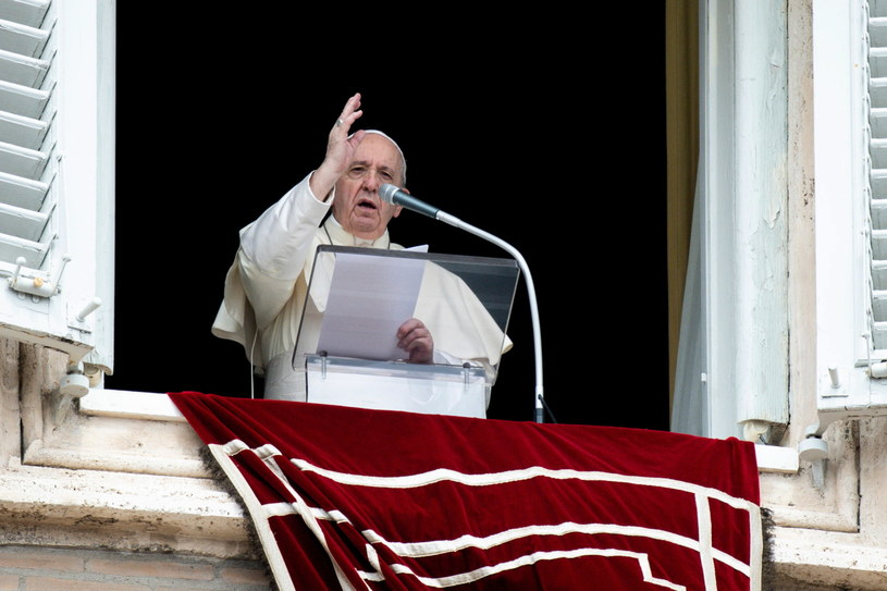 Papież Franciszek zwrócił się do Polaków /OSSERVATORE ROMANO  /PAP/EPA