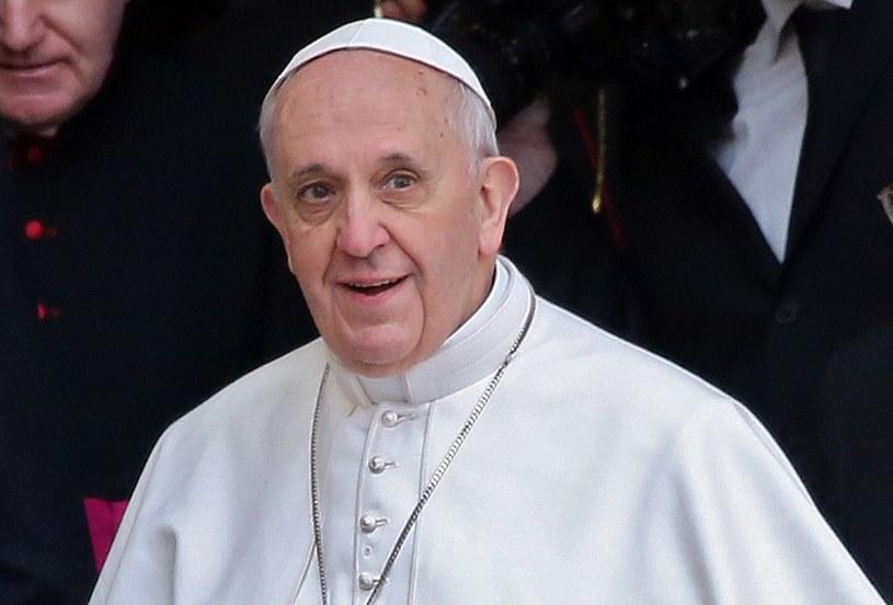 Papież Franciszek /Alessandro Bianchi/REUTERS /Agencja FORUM