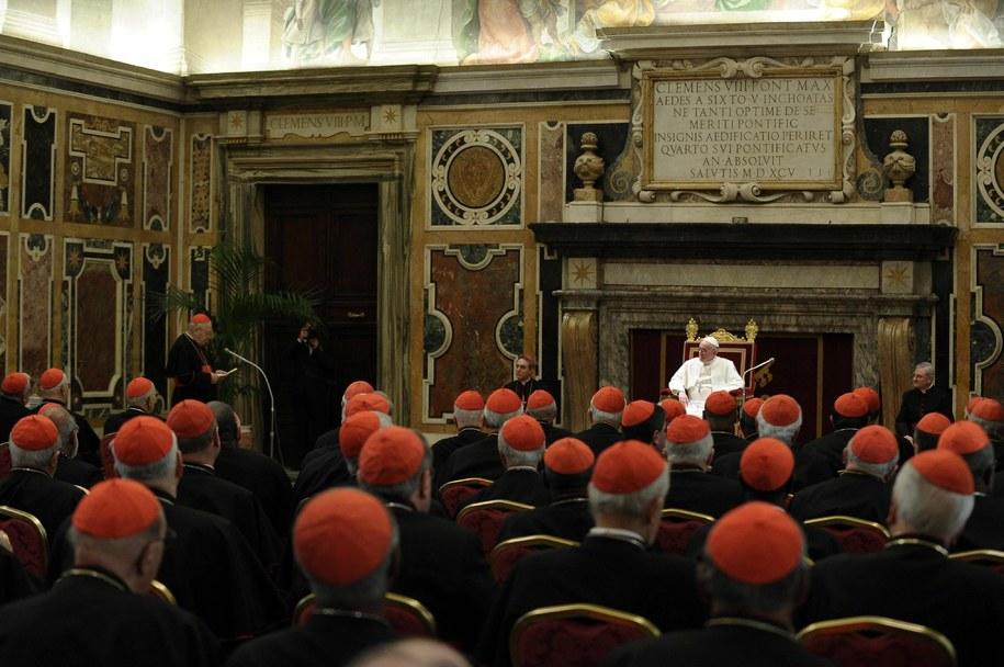 Papież Franciszek /ANSA/L'OSSERVATORE ROMANO   /PAP/EPA