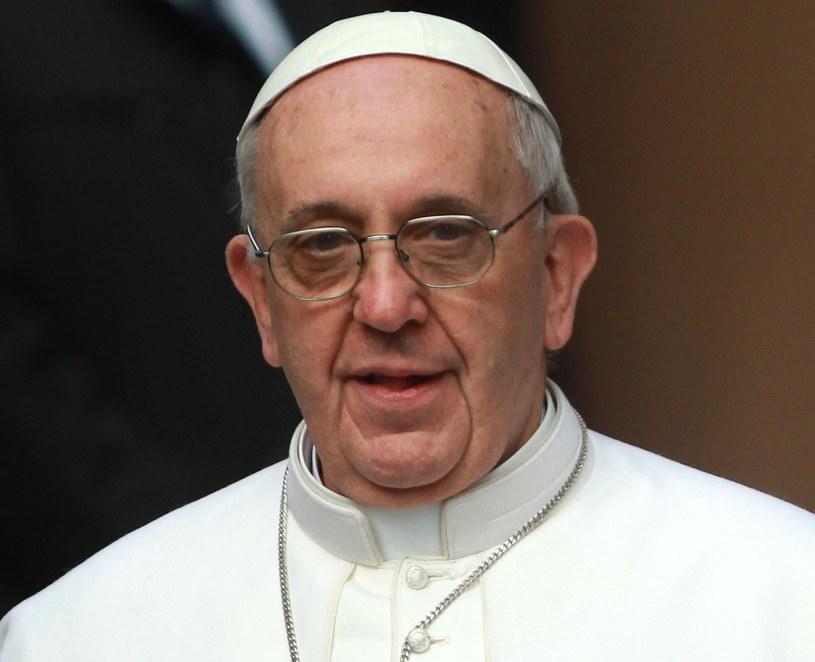 Papież Franciszek /Radek Pietruszka /PAP
