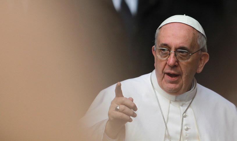 Papież Franciszek /PAP/EPA