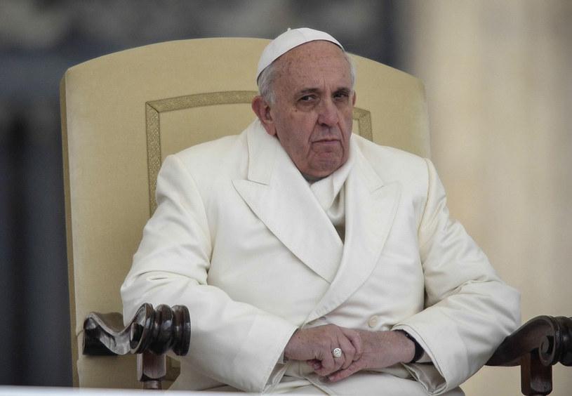 Papież Franciszek /Rex Features /East News