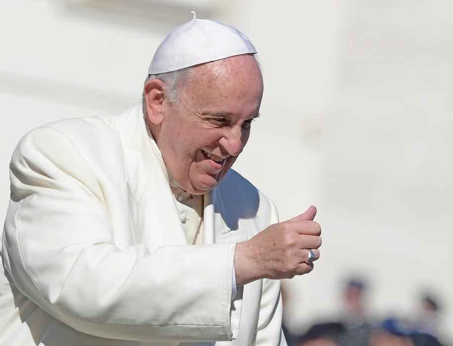 Papież Franciszek / MAURIZIO BRAMBATTI    /PAP/EPA