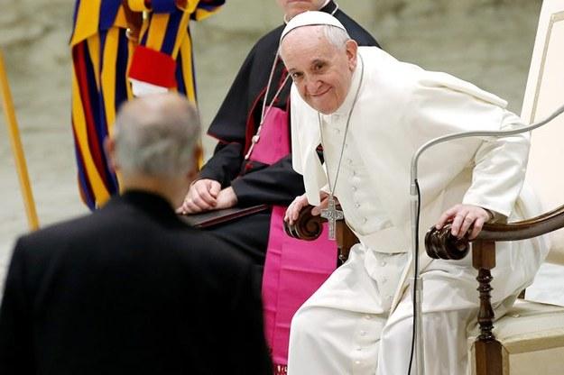 Papież Franciszek /Fabio Frustaci /PAP/EPA