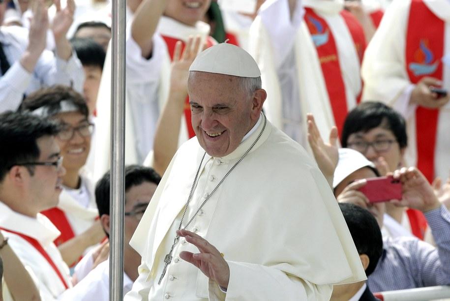 Papież Franciszek /CHUNG SUNG-JUN/POOL /PAP/EPA