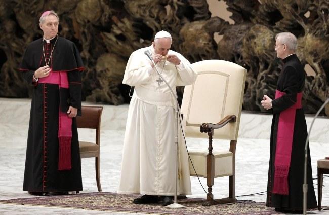 Papież Franciszek /PAP/EPA/GIUSEPPE LAMI /PAP/EPA