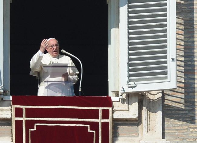 Papież Franciszek /MAURIZIO BRAMBATTI /PAP