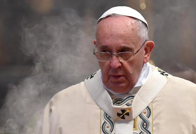 Papież Franciszek /PAP/EPA/ETTORE FERRARI /PAP/EPA