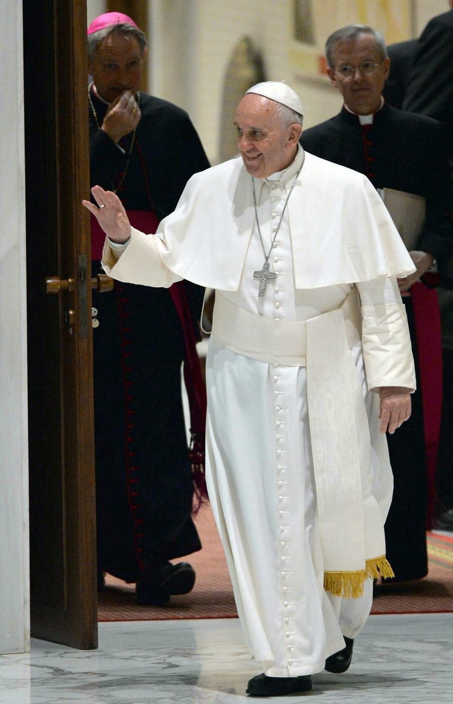 Papież Franciszek /PAP/EPA/MAURIZIO BRAMBATTI /PAP/EPA